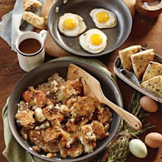 Fried Eggs with Rosemary Potatoes