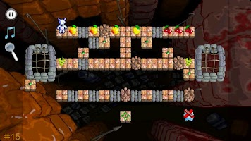 Screenshot of Snowy Puzzle Island