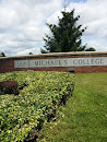 St Michael's College Welcome Sign