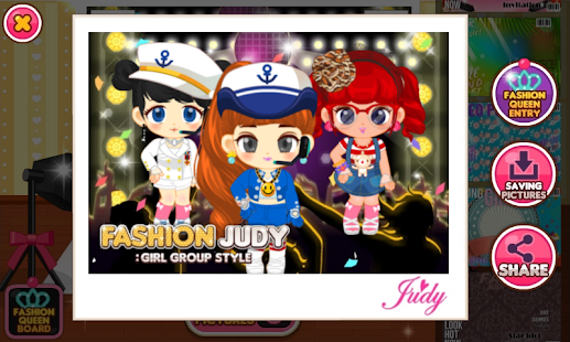 Game Fashion Judy Girl Group Style Apk For Windows Phone