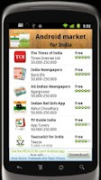 Screenshot of India Android Market
