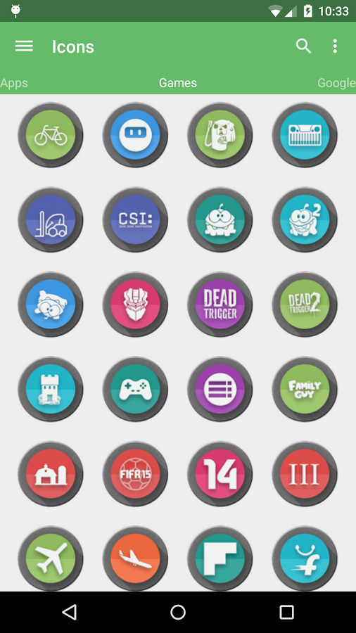 Meld HD Icon Pack Screenshot 8