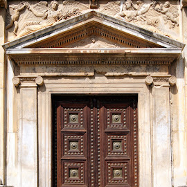 Alhambra doors 2 by Anita Berghoef - Buildings & Architecture Architectural Detail ( doors, alhambra, door, architecture, granada, spain )
