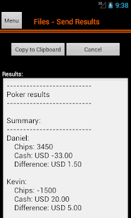 Poker Accounting Dealers Pro - screenshot