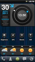 Screenshot of MLG Lightspeed Widget Theme
