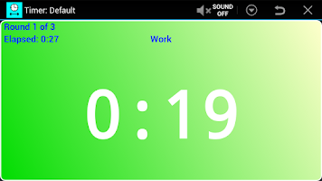 Screenshot of Workout Timer