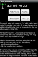 Screenshot of LEAP Wifi Free