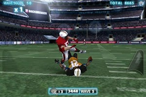 Screenshot of Backbreaker Football