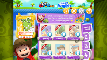 Screenshot of Hello Cocomong & Smart English