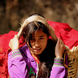 The Beauty by Sk Abdus Salam - People Portraits of Women ( girl, beautiful, cute )