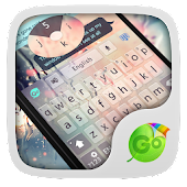Free Glass GO Keyboard Theme APK for Bluestacks