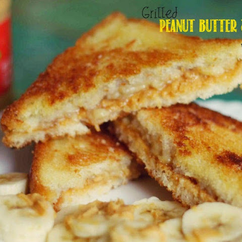Elvis's Grilled Peanut Butter & Banana Sandwich