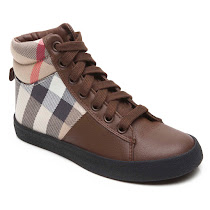 Burberry Burberry Check Trainer HIGH TOP TRAINER