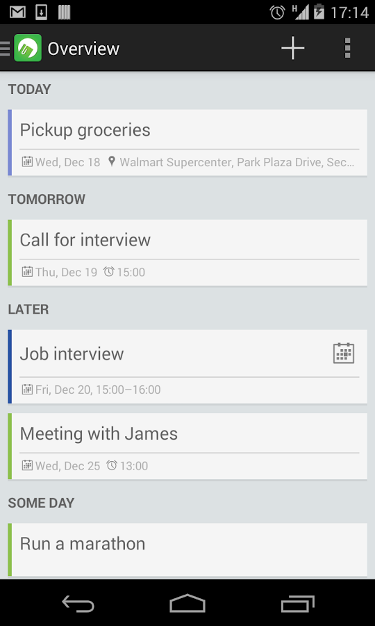 Tudu - Tasks & ToDo list Screenshot 2