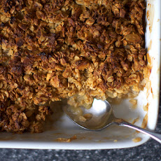 Breakfast Apple Granola Crisp