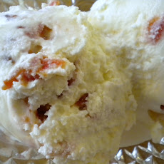 Candied Bacon and Tomato Jam Ice Cream