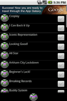 Screenshot of Achievements 4 Injustice