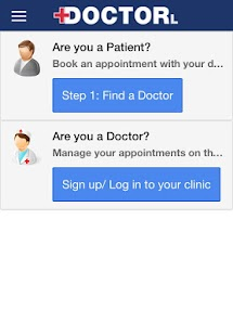 DoctorLink - screenshot