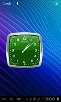 Screenshot of Analog Clock Widget