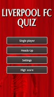 Screenshot of Liverpool FC Football Quiz