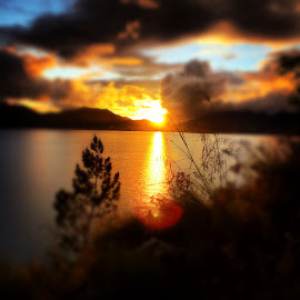 Sunset  by Di Saputra - Instagram & Mobile iPhone ( takengon )