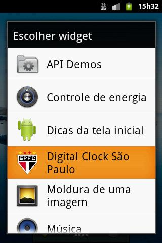 Digital Clock São Paulo