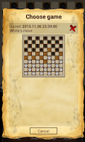 Screenshot of Draughts 10x10 - Checkers