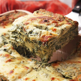 The Best Spinach Lasagna
