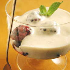 Sherried Zabaglione with Berries