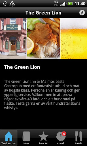 The Green Lion