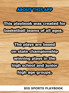 Basketball Plays Reference - screenshot