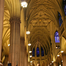 St. Patrick's Cathedral (New York) by Wilson Beckett - Buildings & Architecture Places of Worship