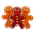 Gingerbread Man Live Wallpaper icon