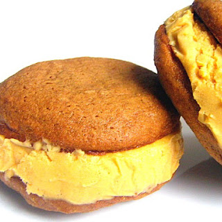 Sweet Potato and Gingerbread Ice Cream Sandwiches