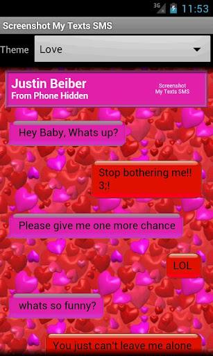 Screenshot My Texts SMS - screenshot