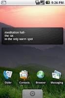 Screenshot of Daily Haiku