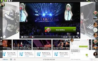 Screenshot of Cosync 4 Youtube