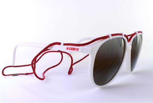 retro skier 1980s mirrored designer sunglasses