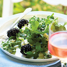 Marionberry, Blue Cheese, and Arugula Salad