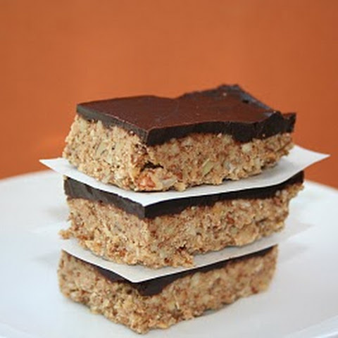 Chocolate Nut Energy Bars (Low Carb and Gluten Free)