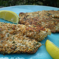 Kittencal's Low Fat Baked Parmesan Fish Fillets