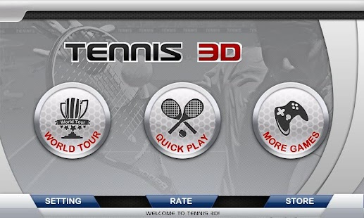 3D Tennis for Lollipop - Android 5.0