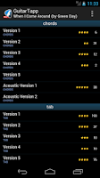 Screenshot of GuitarTapp PRO - Tabs & Chords