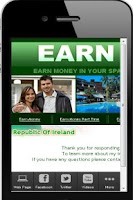 Screenshot of Earn Money