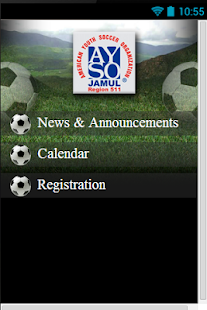 AYSO Region 511 - screenshot