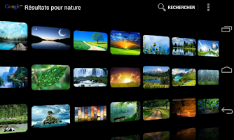 Screenshot of DroidIris : Image Search