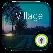 (FREE) Village GO Locker Theme APK for Bluestacks