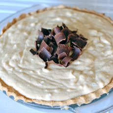 Black Bottom Peanut Butter Chiffon Pie