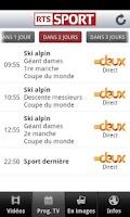 Screenshot of RTSsport (Android 2.x)