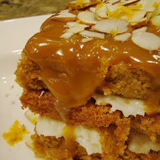 Butterscotch Apple Spice Cake